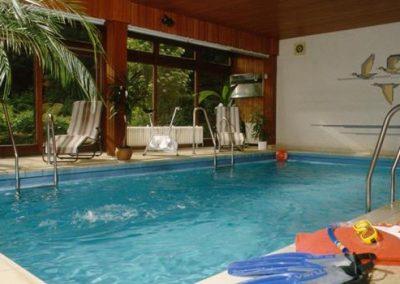 Bild Pool Indoor Hotel Pension Altes Forsthaus Harz